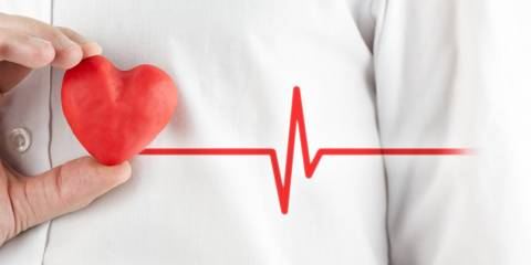 Healthy heart photo illustration