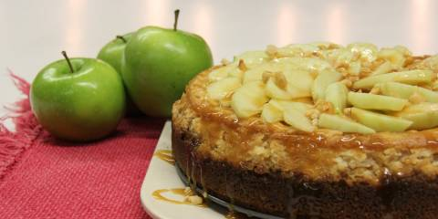 Apple Cider Risotto Cheesecake