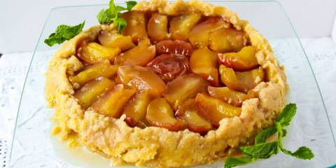 Sugarfree Apple Tarte Tartin