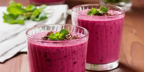 Raspberry-Grape Smoothie