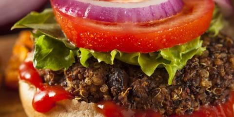 Grilled Veggie Burger