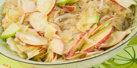 Apple Sauerkraut Salad