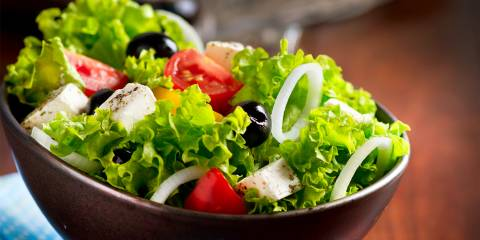 Creamy Mediterranean Salad
