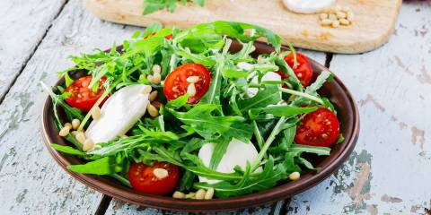A beautiful Summer Salad (Insalata Estiva) ready to eat!