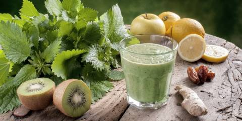 Detox foods and juice