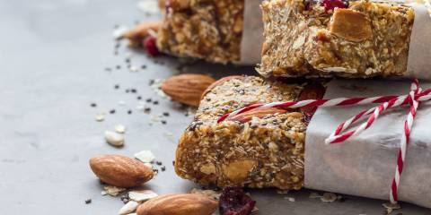 Fruity Almond Oat Bars