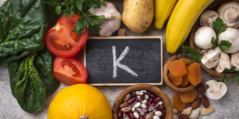 foods with lots of vitamin K