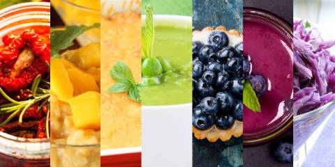 Rainbow Foods and Recipes