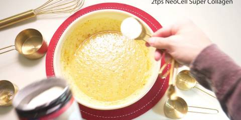 Embedded thumbnail for Pumpkin Spice Collagen Cupcakes