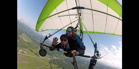 Embedded thumbnail for Crushing Hang Gliding