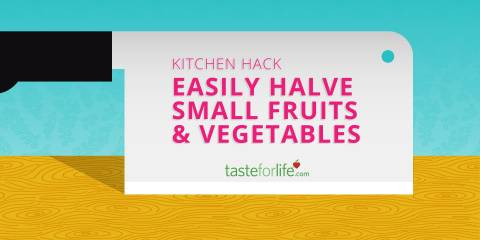 Embedded thumbnail for Easily Halve Small Fruits and Vegetables