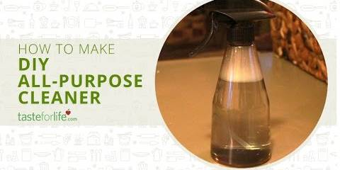 Embedded thumbnail for DIY All Purpose Cleaner