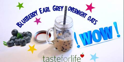 Embedded thumbnail for VIDEO - Blueberry Earl Grey Overnight Refrigerator Oats
