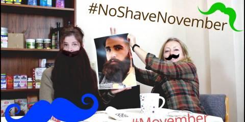 Embedded thumbnail for #Movember #NoShaveNovember