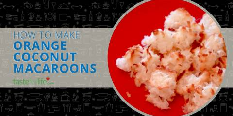 Embedded thumbnail for VIDEO: Orange Coconut Macaroons