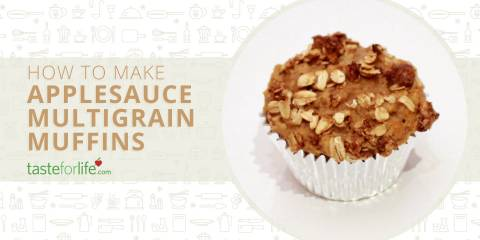 Embedded thumbnail for VIDEO: Applesauce Multigrain Muffins