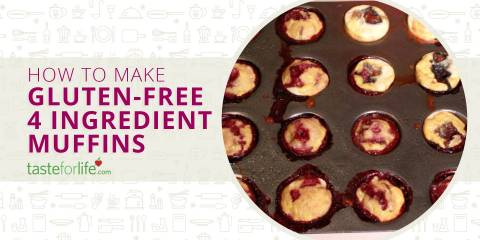 Embedded thumbnail for 4 Ingredient Gluten-Free Muffins