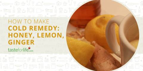 Embedded thumbnail for Cold Remedy: Honey, Lemon, Ginger