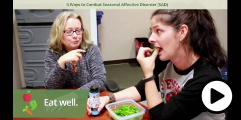 Embedded thumbnail for 6 Ways To Combat Seasonal Affective Disorder