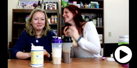 Embedded thumbnail for Protein Shakes