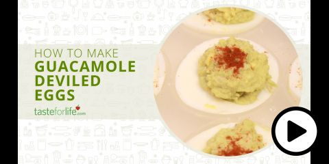 Embedded thumbnail for Guacamole Deviled Eggs