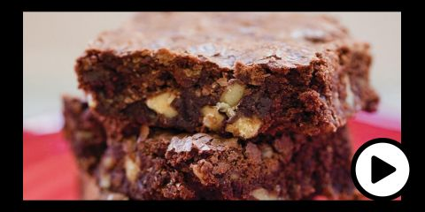 Embedded thumbnail for Gluten-Free Walnut Brownies