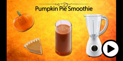 Embedded thumbnail for VIDEO - Pumpkin Pie Smoothie