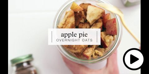 Embedded thumbnail for Apple Pie Overnight Oats