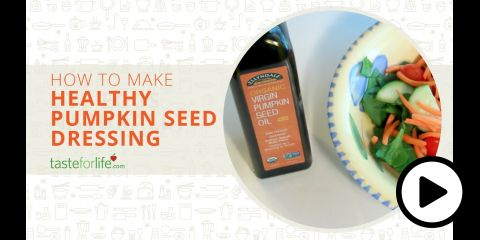 Embedded thumbnail for Pumpkin Seed Oil Dressing