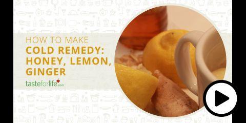 Embedded thumbnail for Cold Remedy: Honey, Lemon, Ginger