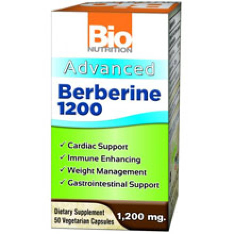 Bio Nutrition's Advanced Berberine 1200