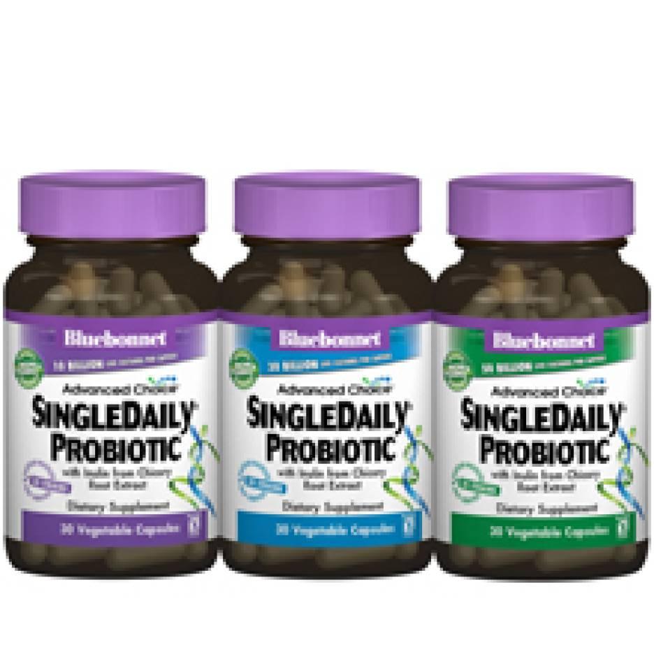 Bluebonnet Nutrition Advanced Choice SingleDaily Probiotics