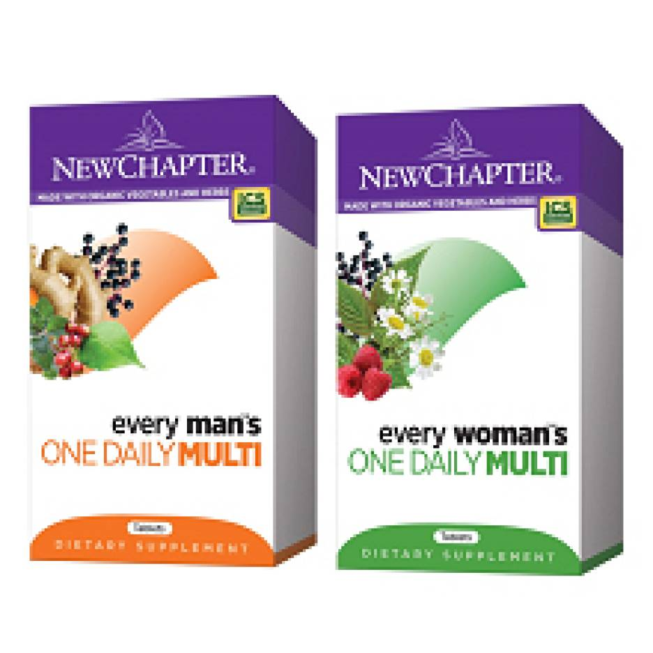 New Chapter Multivitamins