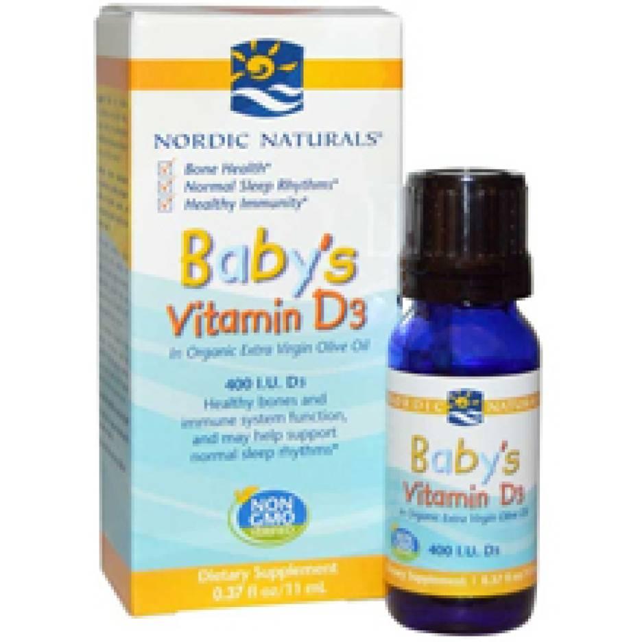 Nordic Naturals Baby's Vitamin D3