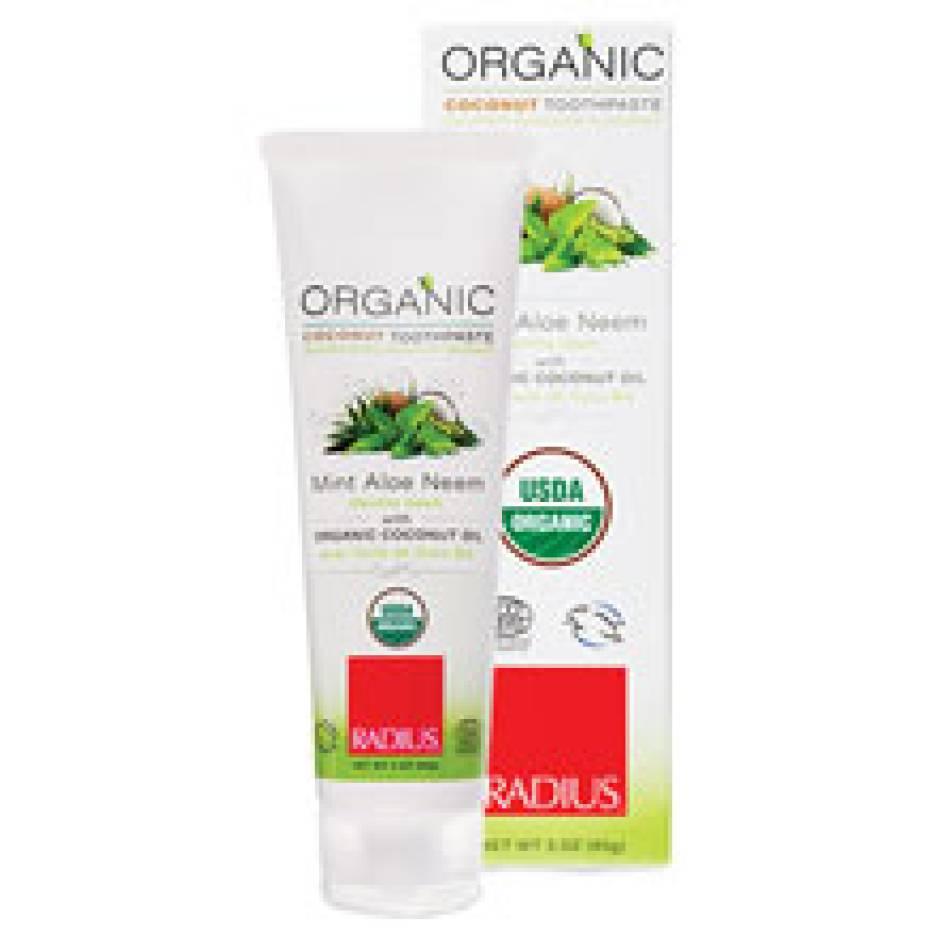 RADIUS USDA Organic Toothpaste