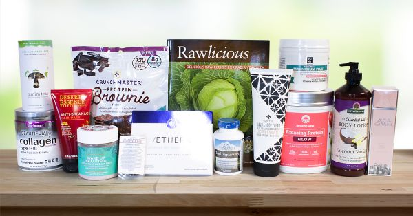A selection of all natural products for relaxation and body care