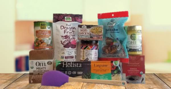 a wide variety of all-natural foods