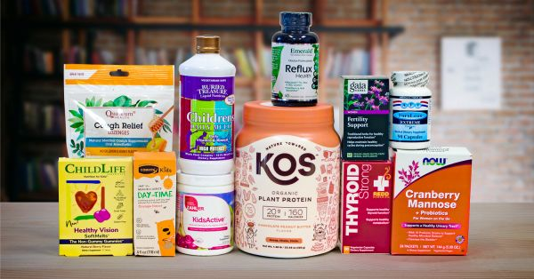 a wide variety of natural supplements for children and moms