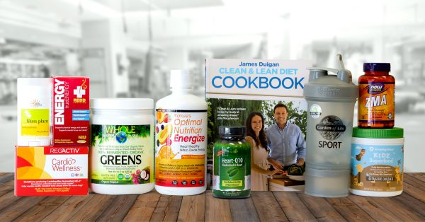 A collection of all-natural supplements for energy, endurance, and cardio
