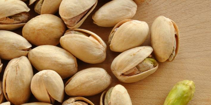 Pistachio Nuts high in B6 and Magnesium
