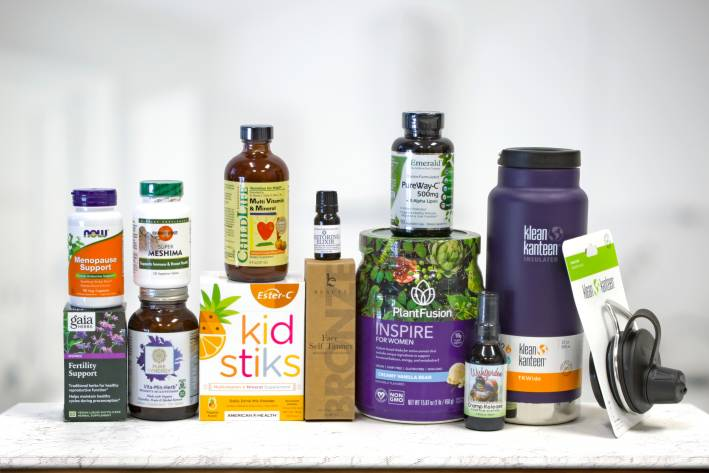 a wide variety of all-natural supplements for women