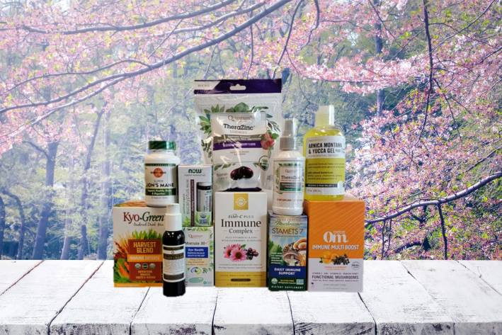 a wide variety of supplements, body care products, and nutritious superfoods