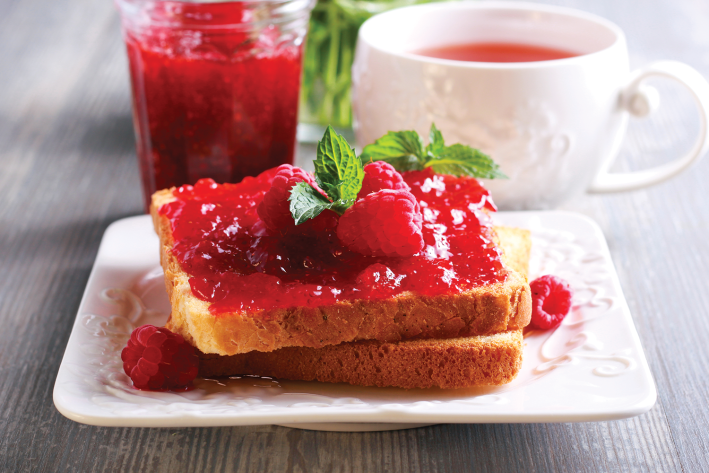 Swedish Low-Sugar Raspberry Jam