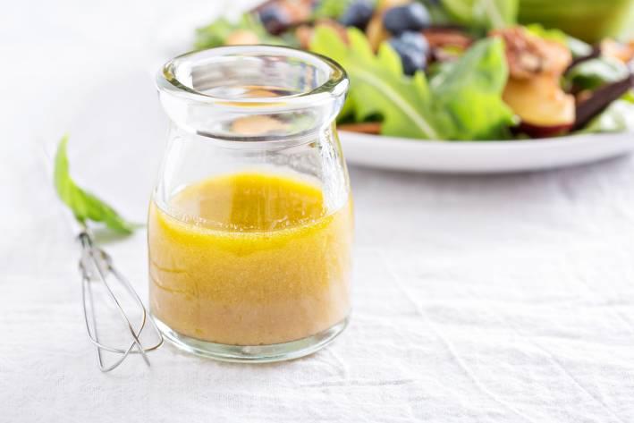 Versatile Vinaigrette in a small bottle.