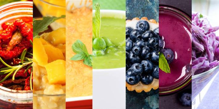 Rainbow Foods and Recipes