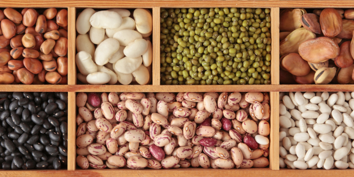 Different types of beans