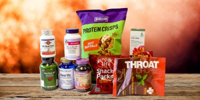A variety of all-natural supplements and foods that have to do with heat