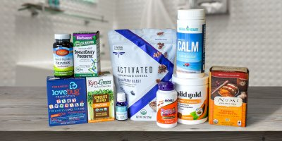 A selection of all-natural products to ease and promote digestion