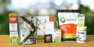 A collection of all-natural products meant to give you an energy boost