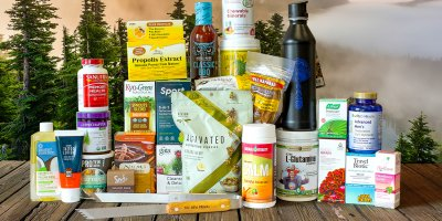 A vast array of quality supplements, healthy snacks and body care products.
